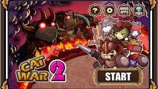 Cat War 2 игра на Андроид и iOS