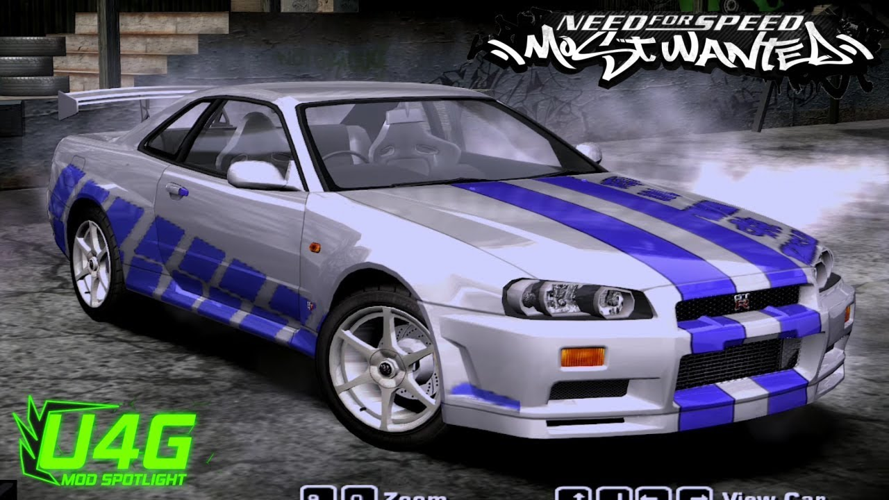 1999 Nissan Skyline GTR 34 Need For Speed Most Wanted 2005 Car Mod Spotlight
