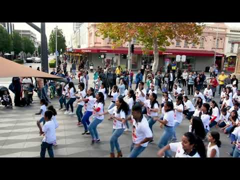 Nachle's Initiative: Parramatta Sydney Flashmob to Promote S