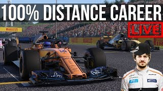 F1 2018 - 100% Distance Career Mode | Round 12: Hungaroring | I