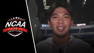 Ian Sangalang says a short message for the Golden Stags | NCAA 94 Exclusive