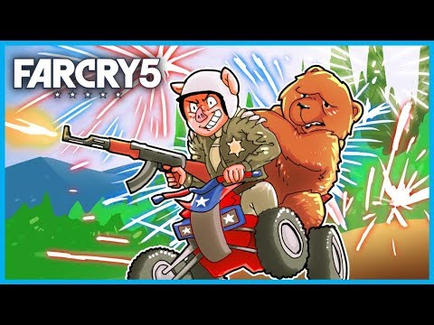 WELCOME to the AMERICAN DREAM in FAR CRY 5! - (Far Cry 5 Funny Moments Gameplay 4K) |