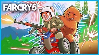 WELCOME to the AMERICAN DREAM in FAR CRY 5! - (Far Cry 5 Funny Moments Gameplay 4K)