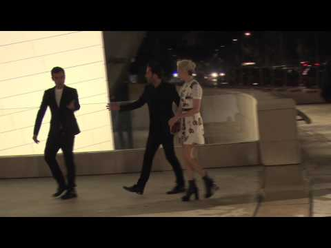 Celebrities Arrive At The Louis Vuitton Foundation Art Museum Inauguration