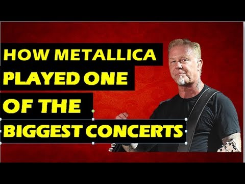 Monsters of Rock: How Metallica, Pantera Played One of The Biggest Concerts IN History