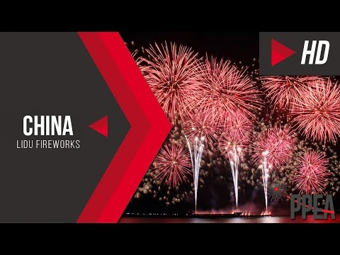 China's Lidu Fireworks - The 8th Philippine International Pyromusical Competition