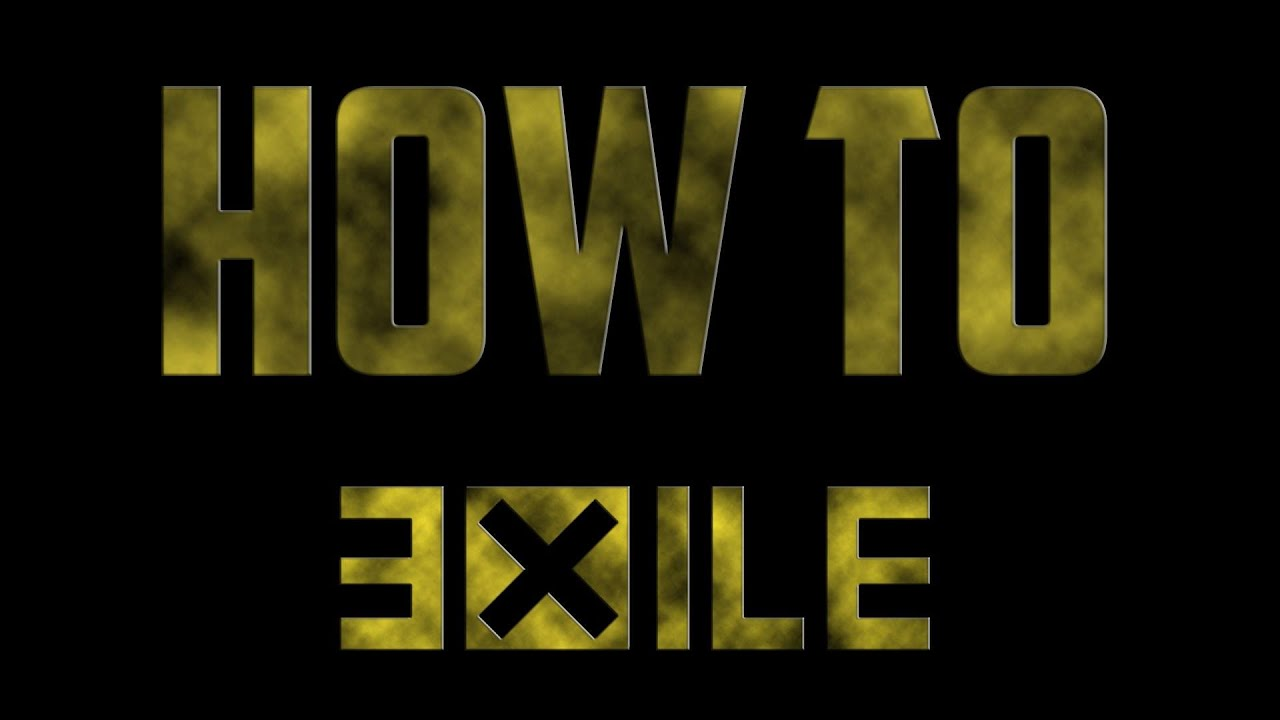 how to put exile in arma 3