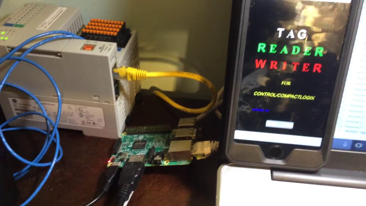 Tag Reader Writer Compact/ControlLogix From Iphone Raspberry Pi+CodeSys
