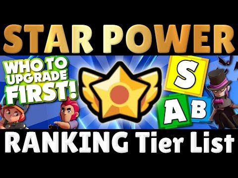 Which Brawlers to Upgrade FIRST?!   Every Star Power Explained!   Star Power Tier List!