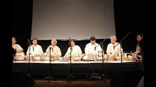 Celebrating the Birth Centenary of Ustad Allarakha khasab The Tabla maestros all together!!!