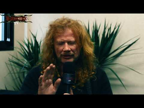 Dave Mustaine - Megadeth Interview - Bloodstock 2017