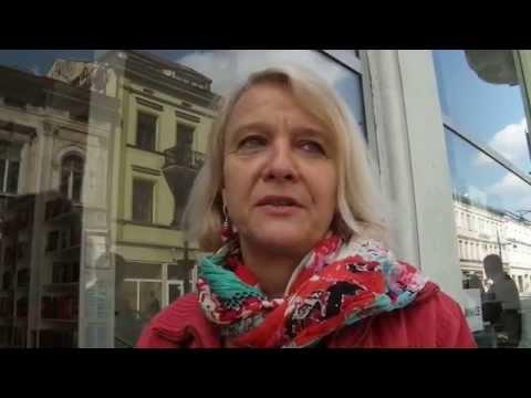 23-04-2014. Łódź. Ewa Wójciak o książkach i prawa autorskich