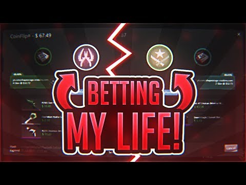 GAMBLING MY LIFE ON THIS NEW GAMBLING SITE..