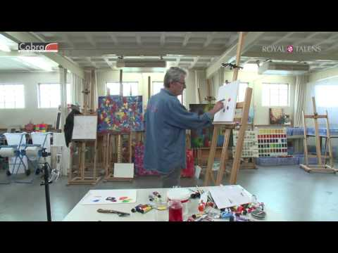 Painting Masterclass | Cobra Water Mixable Oils | Lesson 8 - Colour Mixing