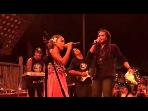 Hello Reggae Cover (Live) - Conkarah and 12yr old Reeana Aviu