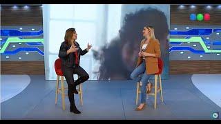 """La Sole presenta """"La Gringa"""" en Telefe Noticias"""