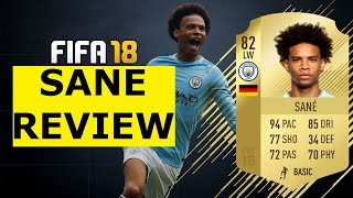 Fifa 18 sane player review! 82 leroy sane review! fifa 18 ultimate team player review!