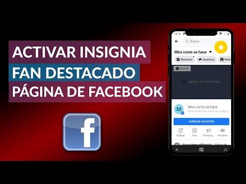 Cómo Activar Insignia de FAN DESTACADO en mi Página de Facebook