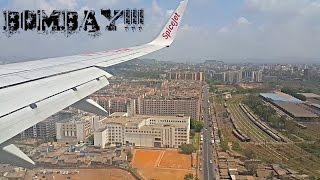 Landing at Mumbai Airport! Spectacular View of Bombay(Mumbai)!
