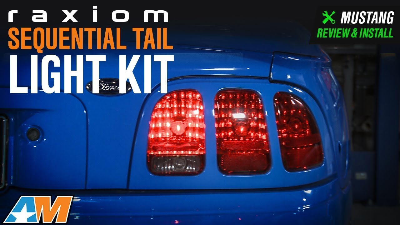 medium resolution of 1996 2004 mustang raxiom sequential tail light kit plug and play 2004 ford mustang fuse box 2004 mustang tail light fuse diagram