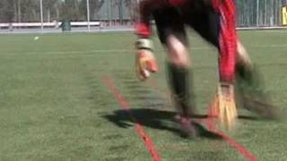 Goalkeeper Training - Agility Ladder Exercises - SeriousGoalkeeping.net