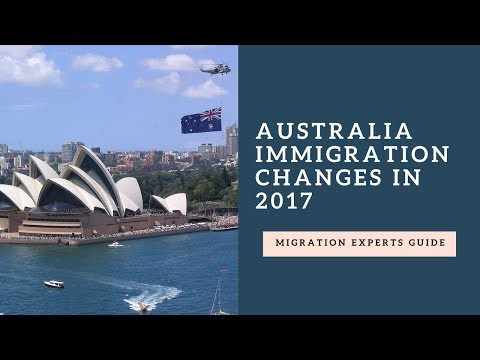 Australia Immigration Changes in 2017