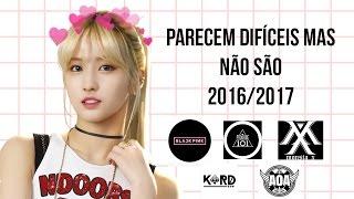 As coreografias mais fáceis do K-POP (2016/2017)