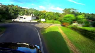 Sony Actioncam, Deltalabs Echotron, Driving the Hills of Rincon, P.R.