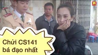 Repeat youtube video Tập 180: Nữ quái kề dao vào cổ cảnh sát 141 dọa giết (NK141)