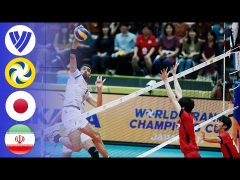 JPN Vs. IRI - Full Match | Men's Volleyball World Grand Champions Cup 2017