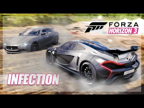 Forza Horizon 3 - LOG Infection, Camping, and Dodges! thumbnail