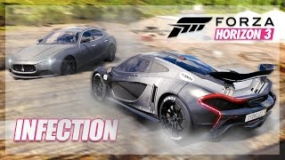 Forza Horizon 3 - LOG Infection, Camping, and Dodges!
