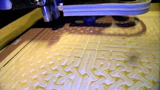 Diy Cnc V-carving Celtic Knot MDF, Part 2
