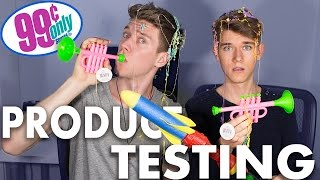 99 CENT STORE PRODUCT TESTING Sibling Tag | Devan & Collins Key