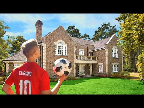 Football Challenges In My NEW House – ft. My Girlfriend