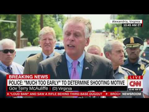 Terry McAuliffe: 'We Lose 93 Million Americans A Day to Gun Violence'