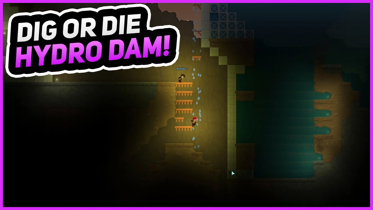 Download HYDRO-ELECTRIC DAM!   Dig or Die   Episode 6