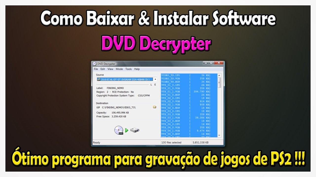 DECRYPTER PORTUGUES WINDOWS 7 DVD BAIXAR SERIAL COM PARA EM