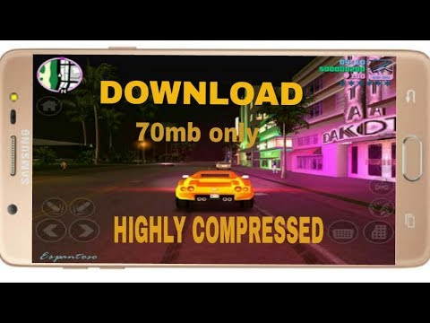 download gta vice city for android highly compressed