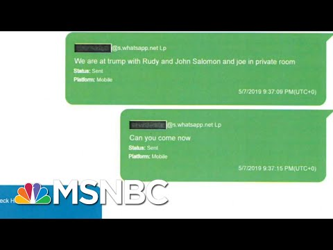 House Releases New Evidence That Show Texts Between Parnas, Devin Nunes Staffer | Hardball | MSNBC