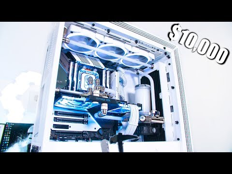 Lt Lickme $10000 AUD Custom Water Cooled Gaming & Editing PC 2990wx RTX 2080 Ti + Benchmarks