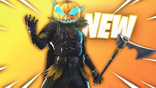 *NEW* HollowHead Skin & Carver Pickaxe GAMEPLAY! Item Shop October 13th! (Fortnite Battle Royale)