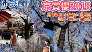 京都2018年櫻花賞花散策路線推薦,我們這天先坐車到「京阪電車的三条站...