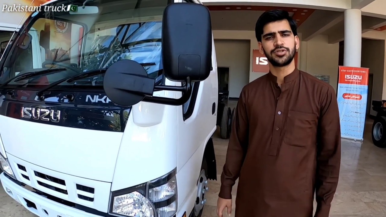 Isuzu NKR full review in urdu  اسوزو ٹرک کی فل تفصیل کے ساتھ مکمل ویڈیو