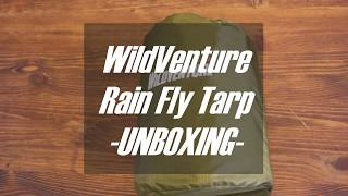 WildVenture Rain Fly Tarp