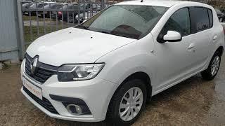 Renault Sandero 2018 года, пробег 80 000 км, обзор автомобиля в Альянс Select.  Чебоксары.