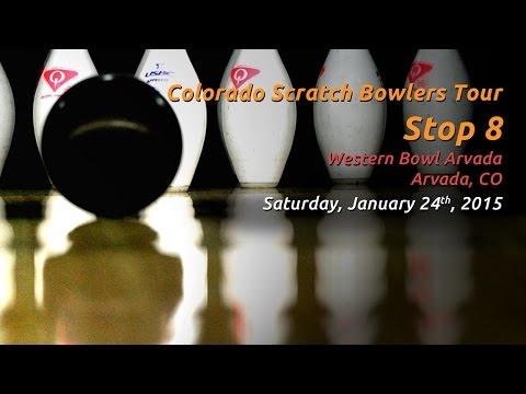 Colorado Scratch Bowlers Tour - Stop 8 - 01/24/2015