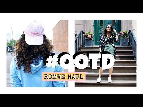 Outfits Of The day Exploring DUMBO, NYC | ROMWE HAUL