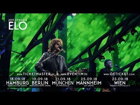 Jeff Lynne's ELO Live 2018   Live Nation GSA