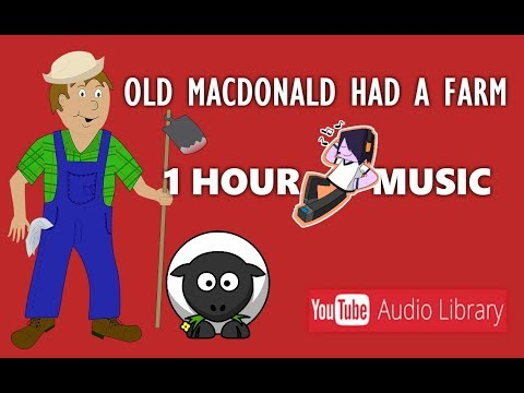 Nursery Song - 1 Hour Of Old MacDonald Had A Farm Instrumental